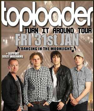 We're supporting 90s legends Toploader!